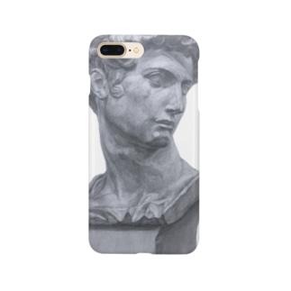 石膏像メディチ Smartphone cases