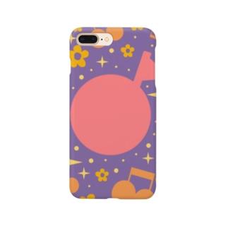 まあるいおんぷ Smartphone cases