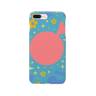 chime shopのまあるいおんぷ Smartphone cases