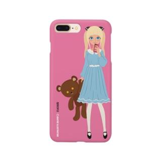 キャトル・ガール09 [color 1] Smartphone cases