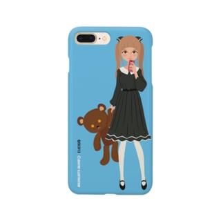 キャトル・ガール09 [color 2] Smartphone cases