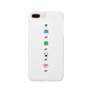 kyasuminneのすぺぺけーす Smartphone cases