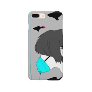 酸素マスク Smartphone cases