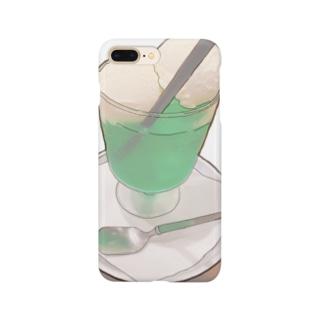 ダブルクリームソーダ Smartphone cases