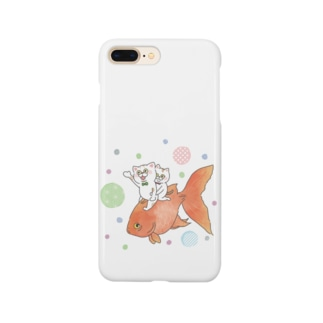 いっしょに泳ごう Smartphone cases