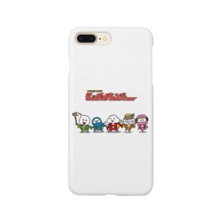 モッチッチレンジャー Smartphone cases