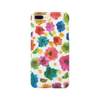 花畑 Smartphone cases