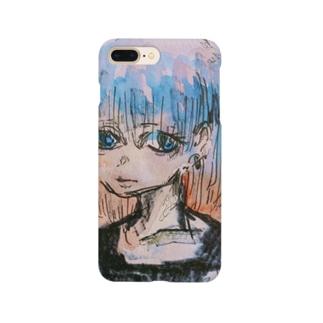 地雷夜明け女 Smartphone cases