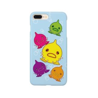 ぷかぷかダンゴウオ Smartphone cases