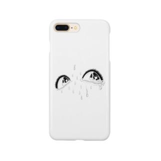 泥の瞳 Smartphone cases