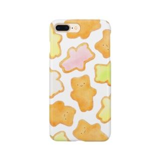 iPhoneケース くまのヨーチ Smartphone cases