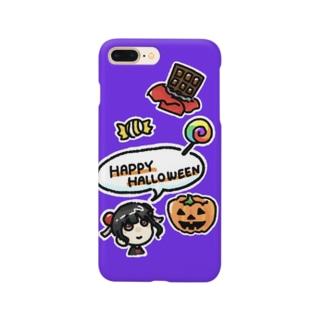 ハッピーハロウィン🎃🎃🎃 Smartphone cases