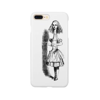 不思議の国のアリス 首が伸びたアリス Smartphone cases