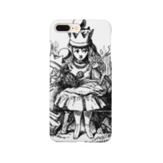 鏡の国のアリス 女王アリス Smartphone cases