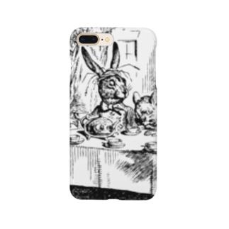 不思議の国のアリス A Mad Tea-Party Smartphone cases