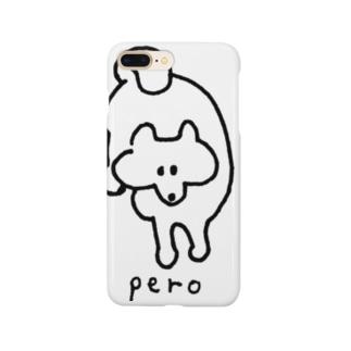 ぺろ(おやつくださいの視線) Smartphone cases