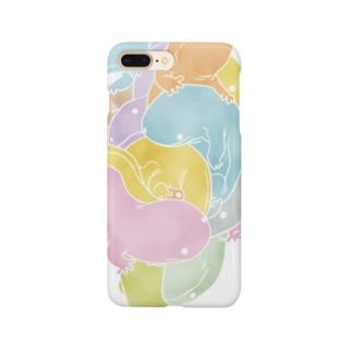 オオサンショウウオ(パステル) Smartphone cases