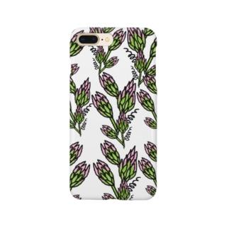 フラワー01 Smartphone cases