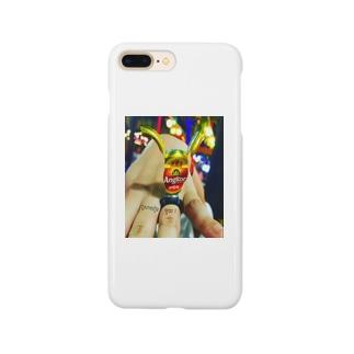 カンボジアビール文字 Smartphone cases