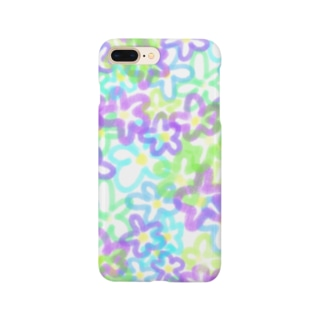 yosshiiiの花畑 Smartphone cases