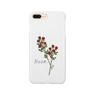 FLOWER〈Rose〉 Smartphone Case