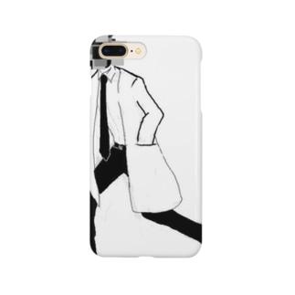 モザイク頭 Smartphone cases