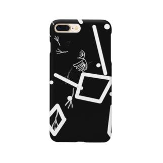 カラスそのさん Smartphone cases
