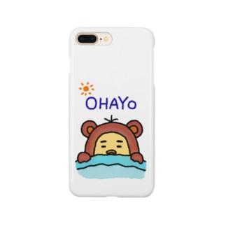 おはよ〜 Smartphone cases