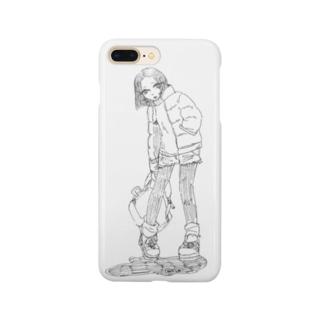 少女とモンスター Smartphone cases