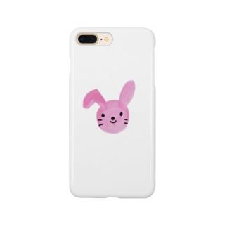 癒しのうさぎさん Smartphone cases