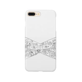 カオスなリボン Smartphone cases