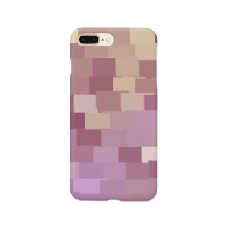 モザイクれんが〈Drawing〉 Smartphone cases