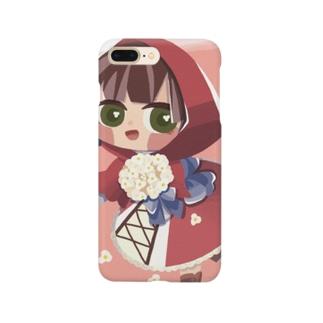 赤ずきんちゃん Smartphone cases