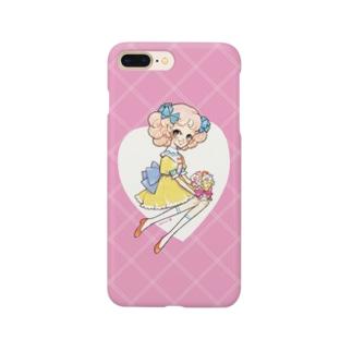 花束と少女 Smartphone cases