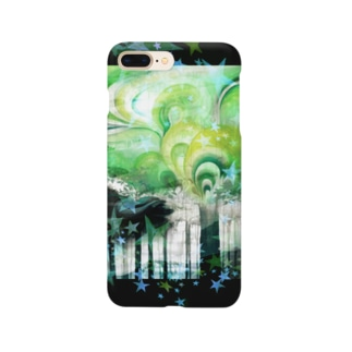 明闇の森 スマホケース Smartphone Case
