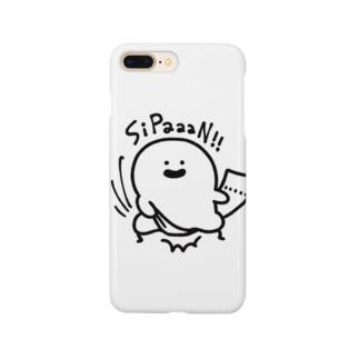 ゆるっと成仏/kanaheiの風呂上がりのおばけ Smartphone Case