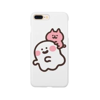 ゆるっと成仏/kanaheiのおばけとネコちゃん Smartphone Case