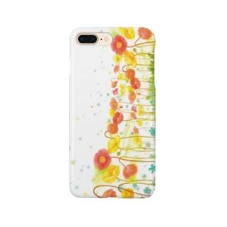 poppy スマホケース Smartphone Case