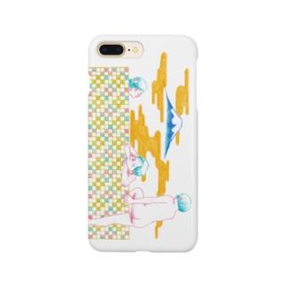 女たちの憩い Smartphone cases