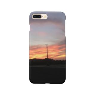 夕焼けぞら Smartphone cases