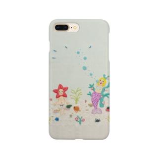ヒトデちゃんと人魚ちゃん(泡) Smartphone Case