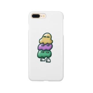 アイスおばけ Smartphone cases