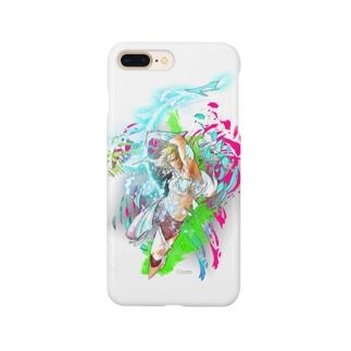 クリムオンラインショップ suzuri店のバトル イーノック Smartphone cases
