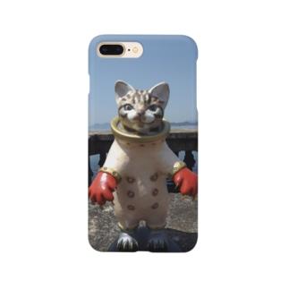 スチームパンクキャット 海ネコ Smartphone cases