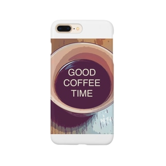 GOOD COFFEE TIME Smartphone cases