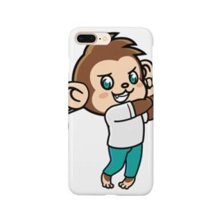 Monkey golfer のもんごる君 Smartphone Case