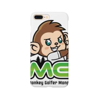 Monkey golferのもんごる君 Smartphone cases
