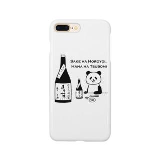 PANDA日本酒「青笹」 Smartphone cases