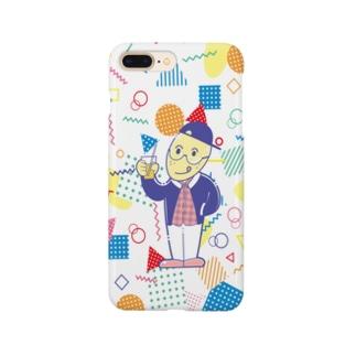 レモンくん 80年代イラスト風 ポップ Smartphone cases