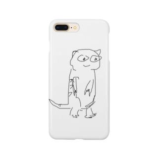 牛タン ミーアキャット Smartphone cases